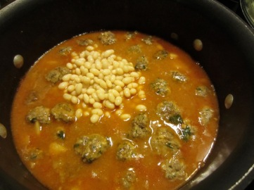 White Navy Bean Stew with Meatballs myfavouritepastime.com_7050