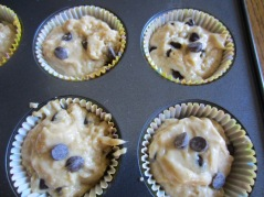 Creamy Amarula Chocolate Chip Muffins myfavouritepastime.com