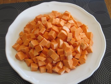 Creamy Sweet Potato and Coconut Soup myfavouritepastime.com