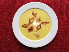 Spiced Parsnip Soup myfavouritepastime.com