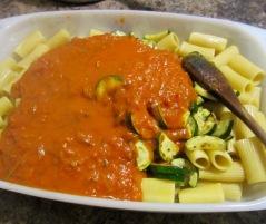 Baked Rigatoni with Zucchini myfavouritepastime.com