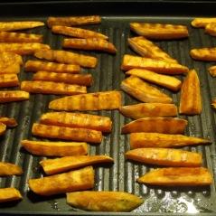 Oven Roasted Sweet Potatoes myfavouritepastime.com