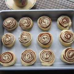 Cinnamon Rolls with Cream Cheese Icing myfavouritepastime.com