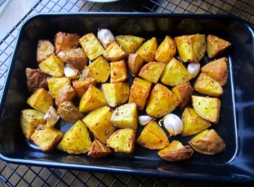 Nigella's Indian Roasted Potatoes myfavouritepastime.com