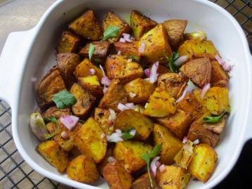 Nigella's Indian Roasted Potatoes myfavouritepastime.com