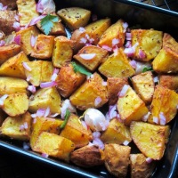 Nigella's Indian Roasted Potatoes