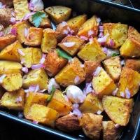Nigella's Indian Roasted Potatoes