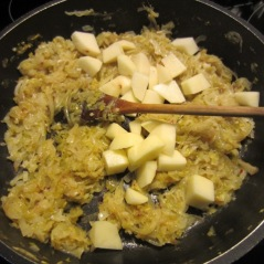 Continue until golden then add potatoes and stock myfavouritepastime.com