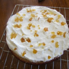 Gordon Ramsay's Vanilla Sponge with Fresh Ginger Cream myfavouritepastime.com