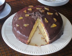 Gordon Ramsay's Vanilla Sponge with Fresh Ginger Cream myfavouritepastime.com