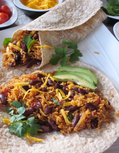 Rice And Red Kidney Bean Burrito My Favourite Pastime