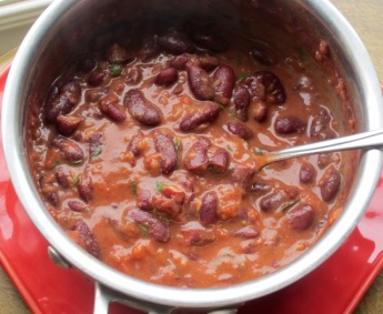 Red Kidney Bean Stew myfavouritepastime.com