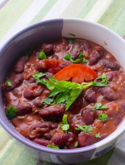 Red Kidney Bean Stew My Favourite Pastime