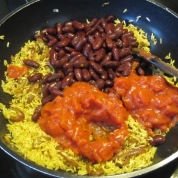Rice and Red Kidney Bean Burrito myfavouritepastime.com