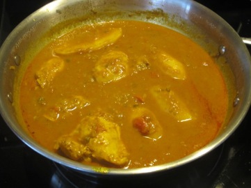 Chicken Curry with Coconut Milk myfavouritepastime.com