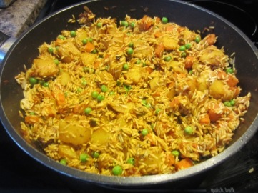 Vegetable Pulao myfavouritepastime.com