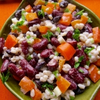 Barley and Bean Salad