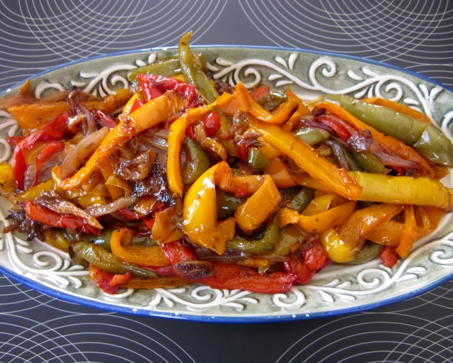Spicy Peperonata myfavouritepastime.com