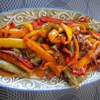 Spicy Peperonata