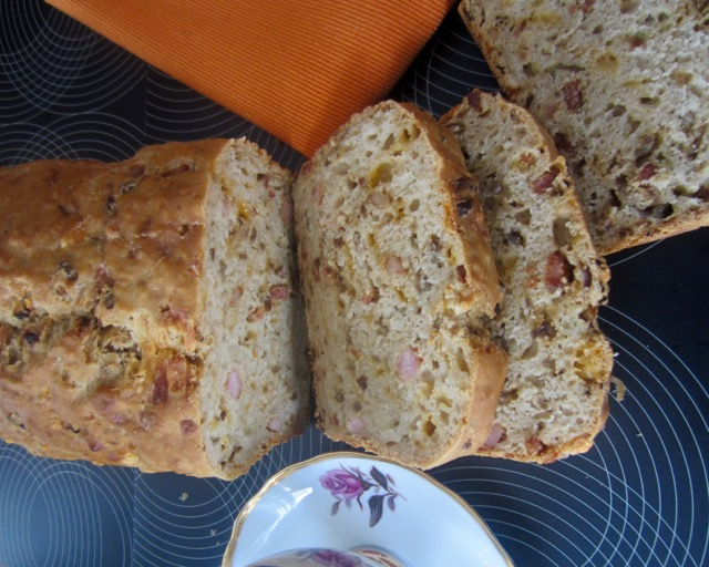 Bacon Onion and Cheese Beer Bread myfavouritepastime.com