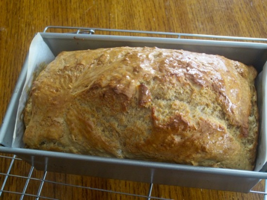 Guinness and Grolsch Ultimate Beer Bread