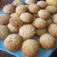 Coconut Honey Biscuits