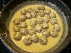 Meatballs with Creamy Oregano Sauce myfavouritepastime.com