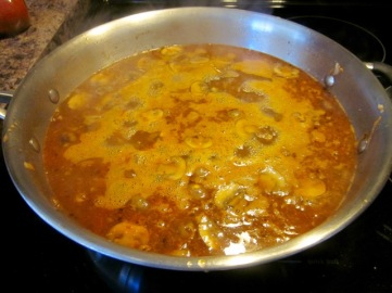 Green Lentil and Mushroom Stew myfavouritepastime.com