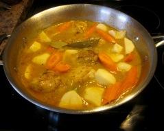 White Wine Chicken Stew myfavouritepastime.com