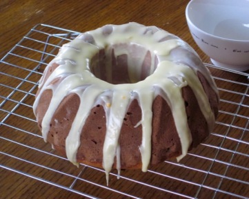 Quick Orange Lemon Cake with Sultanas myfavouritepastime.com