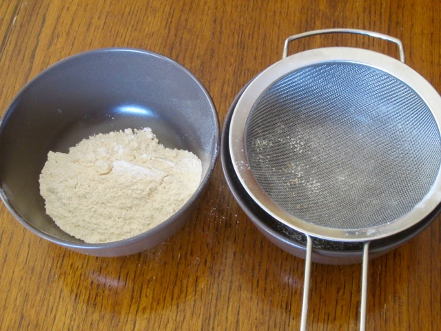 Sifted Atta flour from India myfavouritepastime.com